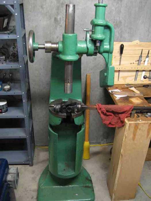 Greenerd 3 1 2 Ratchet Arbor Press